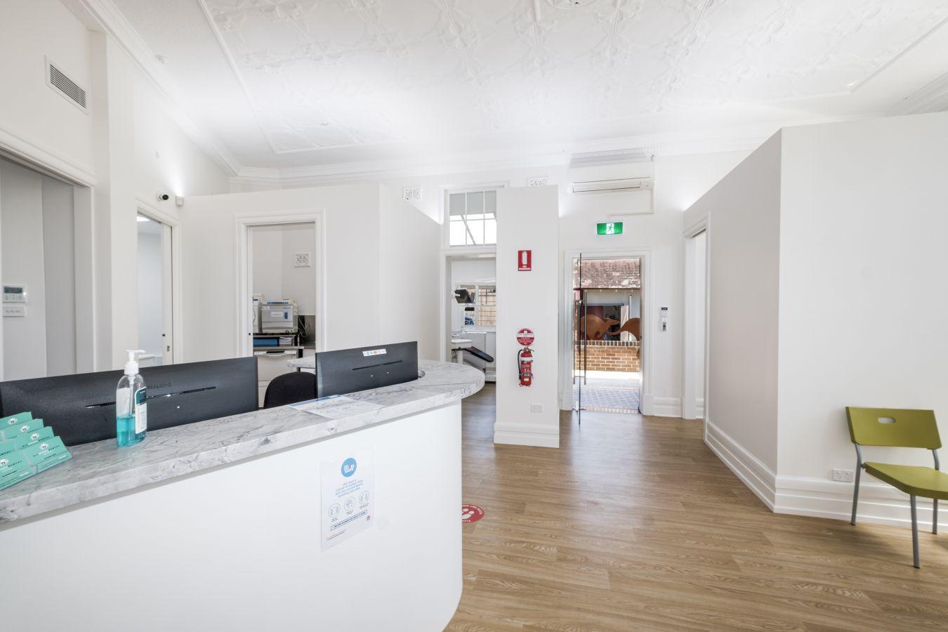 All Needs Dental Croydon reception area